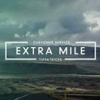 Going the Extra Mile: Above and Beyond the Call of Duty!